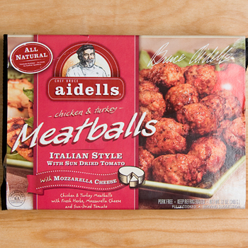 Aidells All Natural  Italian Style Chicken Meatballs - 12oz