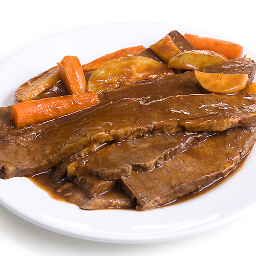 Brisket Pot Roast by Zabar's - (Whole 6lbs min wt), , large