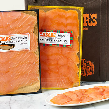 Zabar's Prepack Scotch Cured Nova Salmon (Kosher), , large