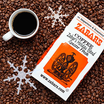 Zabar's Holiday Blend Coffee 16oz (Kosher), , large