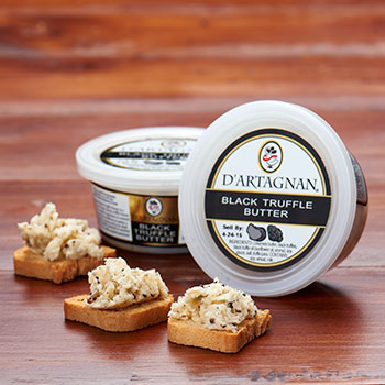 D'Artagnan Black truffle Butter 3oz, , large