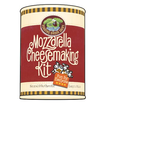 Mozzarella Cheese Making Kit by Roaring Brook Dairy, , large