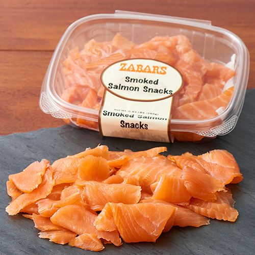 Zabar's Smoked Salmon Snacks (8oz), , large