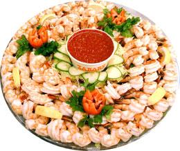 Zabars Shrimp Platter