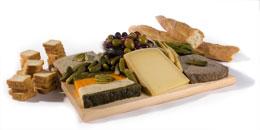 Zabars Pate & Cheese Board