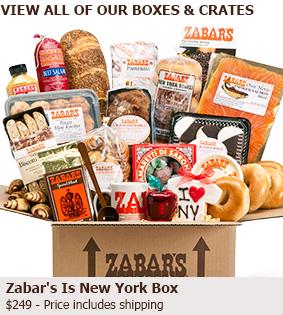 gift baskets boxes zabar 39 s