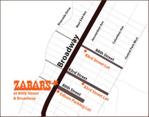 Directions to Zabars