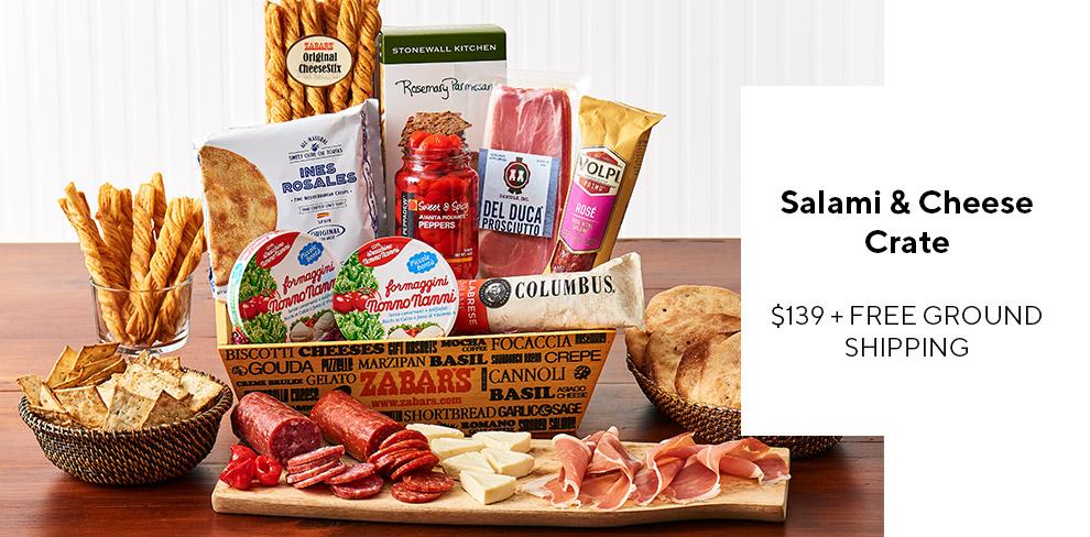 Zabar's NYC Essentials Basket