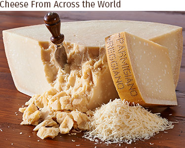Cheese by Country