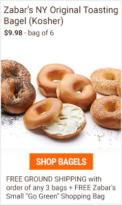 Gourmet Bagels - pack of 6