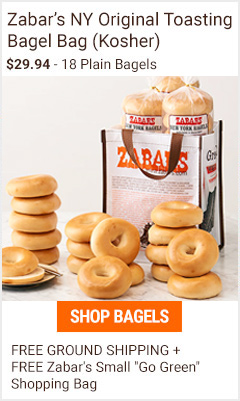 Plain bagel bag of 18