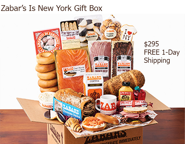 Zabar's New York Sandwich Kit