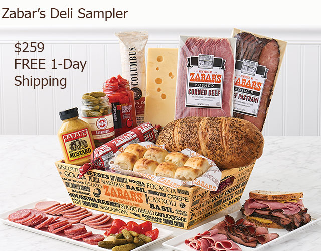 Zabar's Don't Be Homesick Gift Crate
