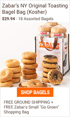 Assorted Bagel Bag of 18