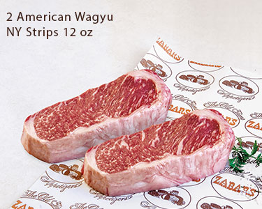 Wagyu NY Strip Sampler